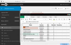 Editace a online kolaborace MS Office dokumentů