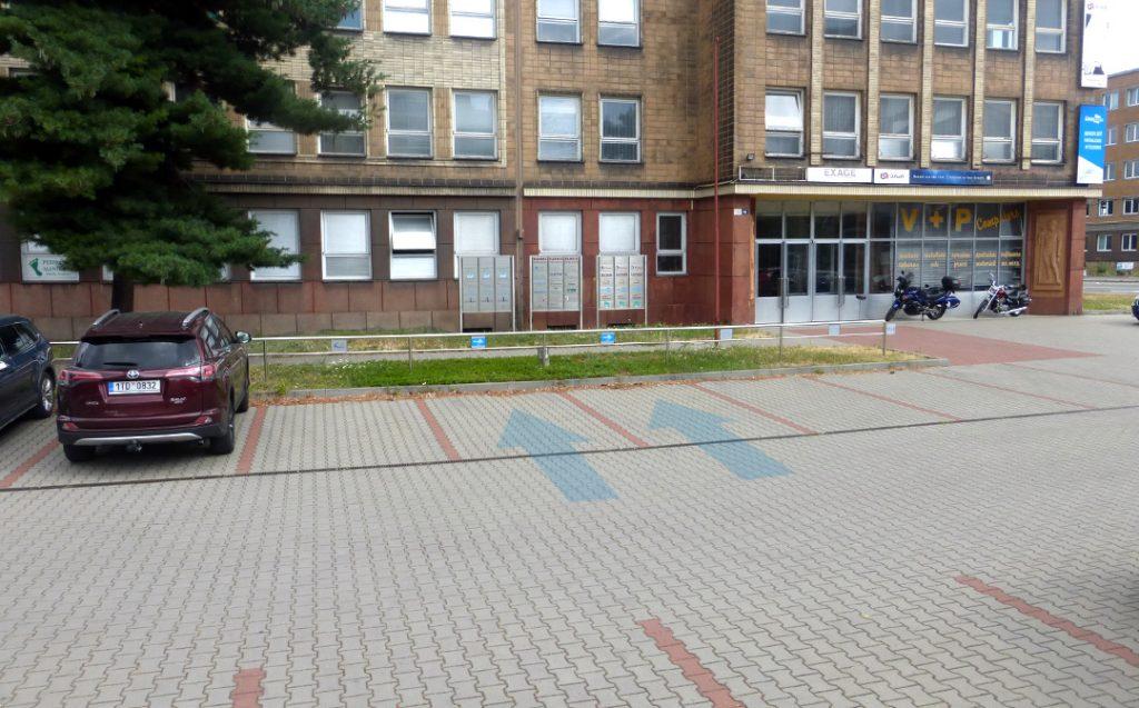 LinuxBox.cz - parkovací místa