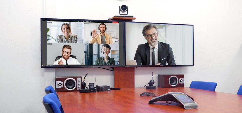 Zobrazení na dvou monitorech