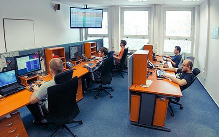 Servisní, dohledové a monitorovací centrum